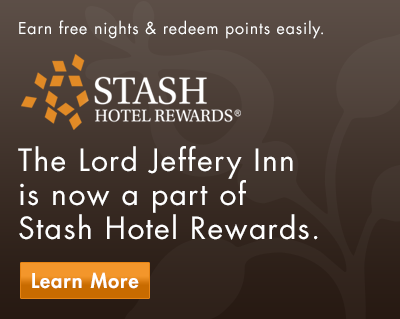 The Lord Jeffery Inn & Stash Rewards